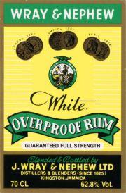 Wray and Nephew White Overproof Rum